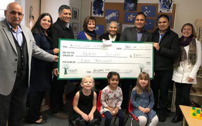 Sharma Family Donates $5000