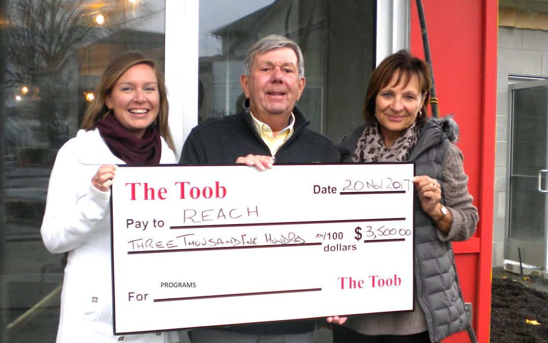 Thank You To Local Community Club Toob