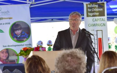 Province Of Bc Contributes $211,346 To Building To Children Together Campaign