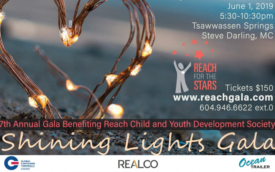 Announcing 2019 Reach for the Stars Gala