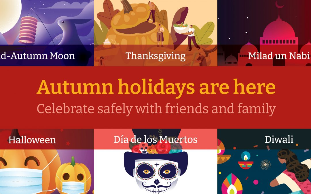 Celebrating Autumn and Winter Holidays Safely